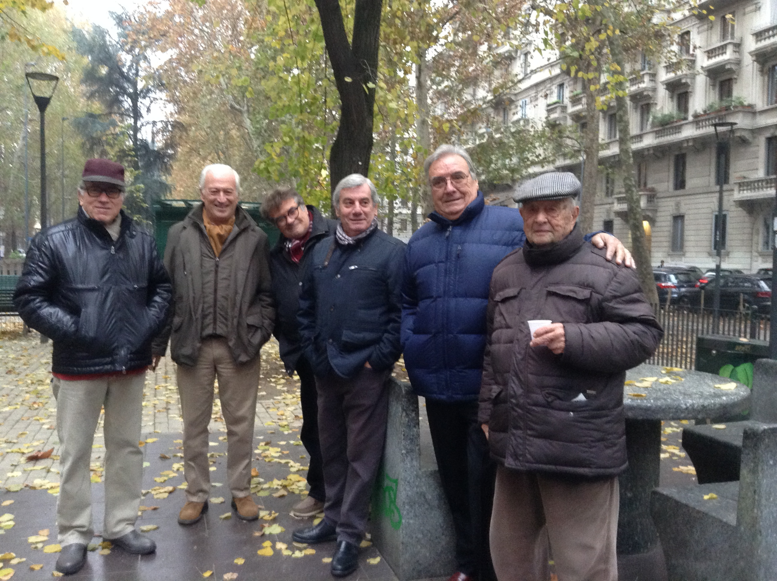 Giacomo, Enzo, Guido, Antonio, Sabino, Ettore
